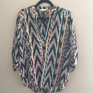 ZigZag Patterned Blouse